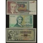 Lot 9 Bankovcev 1974/1993 - aUNC-UNC (1)