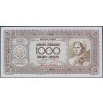 1000 dinarjev 1946 UNC