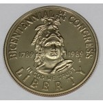 ZDA 1/2 dolarja 1989 - CONGRESS BICENTENNIAL
