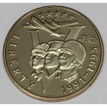 ZDA 1/2 dolarja 1993 - WORLD WAR II 50TH ANNIVERSARY
