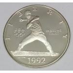 ZDA 1 dolar 1992 - 1992 OLYMPICS - BASEBALL