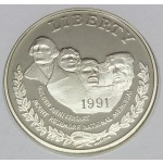 ZDA 1 dolar 1991 - MOUNT RUSHMORE 50TH ANNIVERSARY