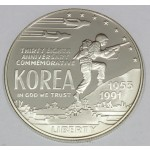 ZDA 1 dolar 1991 - KOREAN WAR - 38TH ANNIVERSARY