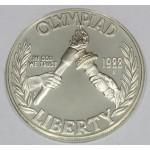 ZDA 1 dolar 1988 - 1988 OLYMPICS