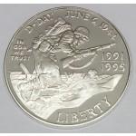 ZDA 1 dolar 1993 - WORLD WAR II 50TH ANNIVERSARY