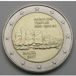 MALTA 2€ 2017 - Hagar Qim