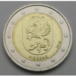 LATVIJA 2€ 2016 - Vidzeme Region