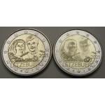 LUKSEMBURG 2€ 2021 - 40. obletnica poroke - 2 kovanca
