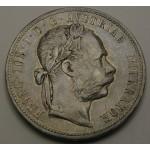 AVSTRIJA 1 Florin 1879 - #4