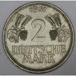 NEMČIJA 2 Marki 1951 D