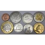 Galapaški otoki 1, 5, 10, 25, 50 Centavos & 1, 2, 5 Dolares - 2008