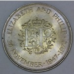 Velika Britanija 25 New Pence ND(1972) - Royal Silver Wedding Anniversary