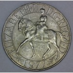 Velika Britanija 25 New Pence 1977 - Silver Jubilee of Reign