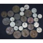 IRSKA - Lot 28 kovancev različnih letnic. #30