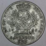 BRANDENBURG BAYREUTH 20 Krajcar 1765 - Friedrich Christian