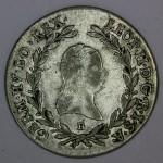 AVSTRIJA 20 Kreuzer 1791 B - Leopold II.