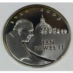 Poljska 10 Zlotov 2005 MW Proof -  Janez Pavel II.