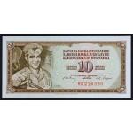 10 dinarjev 1968 - RD - UNC - (6 cifer)
