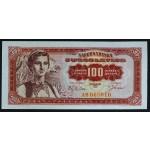 100 dinarjev 1963 - AB - aUNC