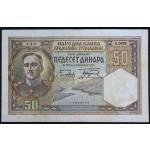 50 dinarjev 1931 - VF