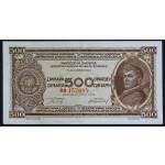 500 dinarjev 1946 - BB - XF - (nitka)