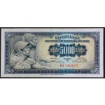 5000 dinarjev 1955 - BX - VF - (številka 2)