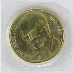 1000 dinarjev 1980 - Ob Titovi smrti.