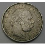 MADŽARSKA 1 Korona 1892 KB - Franz Joseph I.