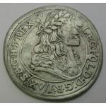 MADŽARSKA 15 Krajczar 1678 KB - Leopold I.