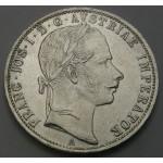 AVSTRIJA 1 Florin 1861 A