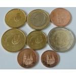 ŠPANIJA SET (1 Cent - 2€) 2015