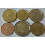 ANDORRA SET (5 Centov - 2€) 2014