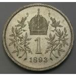 AVSTRIJA 1 Krona 1893 - UNC
