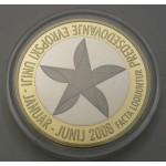 SLOVENIJA 3€ 2008 PROOF - Predsedovanje EU
