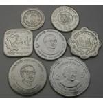 BANGLADEŠ Poisha / 5 Taka 1974/2013 - Lot 7 kovancev - UNC
