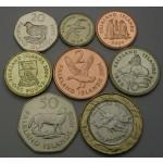 FALKLANDSKI OTOKI 1 Penny / 2 Pounds 1998/2004 - Lot 8  kovancev - UNC