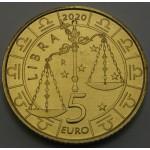 SAN MARINO 5€ 2020 - Zodiac - Tehtnica