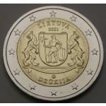 LITVA 2€ 2021 - Dzūkija