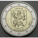 LATVIJA 2€ 2017 - Latgale