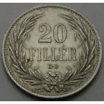 MADŽARSKA 20 Filler 1914 KB - Franz Joseph I.