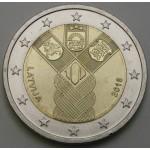 LATVIJA 2€ 2018 - 100 years of the Baltic States