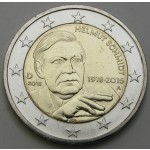 NEMČIJA 2€ 2018 - Helmut Schmidt - (A,D,F,G,J )