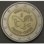 ESTONIJA 2€ 2021 - Finno Ugric Peoples