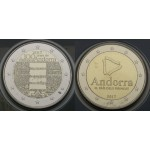 ANDORRA 2€ 2017 (2018) -  Anthem  & The Pyrenean country