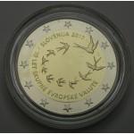 SLOVENIJA 2€ 2017 Proof - 10. obletnica Evra