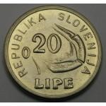 SLOVENIJA 0.20 Lipe 1991