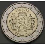 LITVA 2€ 2019 - Regija Žemaitija