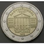 ESTONIJA 2€ 2019 - 100 letnica univerze v Tartuu
