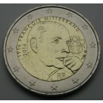 FRANCIJA 2€ 2016 - Francois Mitterand