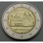 NEMČIJA 2€ 2014 NIEDERSACHSEN (A,D,F,G,J )
